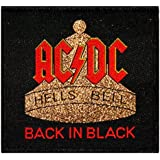AC/DC ACDC Back In Black Hells Bells Hard Rock Music Woven Sew On Applique Patch by Another Quality product supplied by klicnow