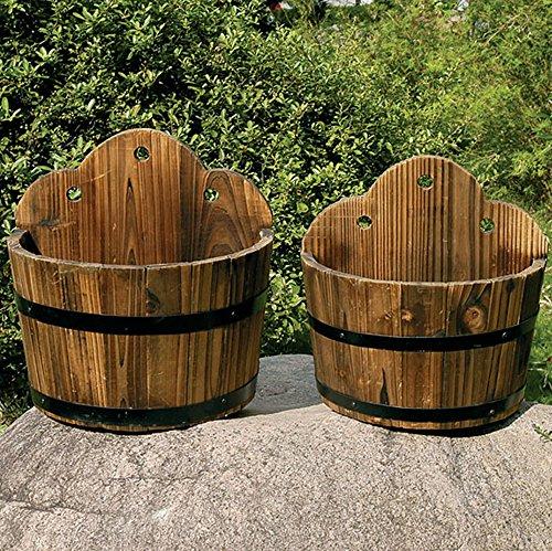barrel-wood-garden-wall-flower-planter-pot-set-of-2-burntwood