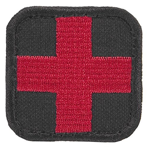Condor Medic Patch Schwarz / Rot Test