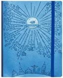 """Freedom Mastery Deluxe Law Of Attraction Success Planner 2017 Increase Productivity, Time Management, Passion & Happiness B5 Size Non Dated (6.9"""" X 9.8"""") Rio Blue"""