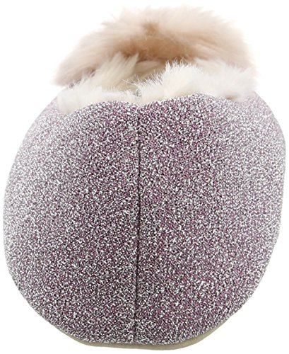 Ruby and Ed Glitter Pouffe Ballerina, Chaussons femme Violet - Purple (Lilac)