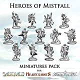 Heroes of Mistfall Miniatures Pack - English