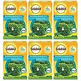 SBM Solabiol GARDOPIA Sparpaket: 6 x 50ml Buchsbaumzünslerfrei Raupenfrei gegen saugende und beißende Schädlinge + Gardopia Zeckenzange mit Lupe