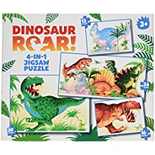 Dinosaur Roar 4 In 1 Puzzle
