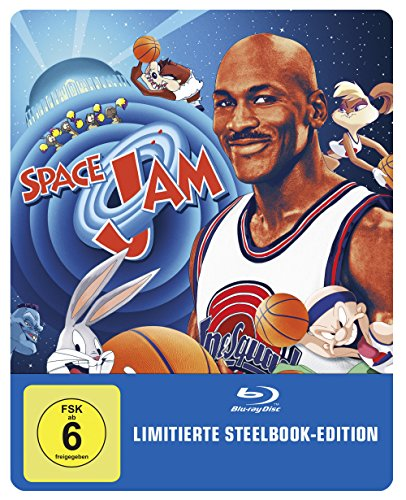 Space Jam Steelbook (exklusiv bei Amazon.de) [Blu-ray] [Limited Edition] -