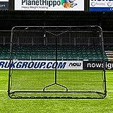 RapidFire Mega Filet de Rebond | Outil d'Entraînement Multisport (2 Tailles Disponible) [Net World Sports] (Grand (2,1m x 2,4m))