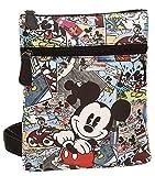 Die besten Disney Messenger Bags - Disney 3235551 Mickey Comic Umhängetasche, Mehrfarbig Bewertungen