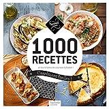 1 000 recettes carrément faciles ! : et leurs listes de courses à flasher ! (Carrément cuisine) (French Edition)
