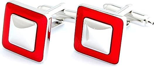 Peluche Classy Resin Enamel Premium Cufflinks for Men | Geniune Branded Product