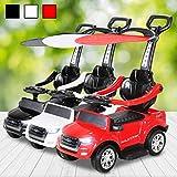 Actionbikes Motors Kinder Rutschauto Ford Ranger Lizenziert Kinderauto Kinderspielzeug Spielzeug für Kinder (Rot)