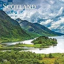 Scotland - Schottland 2019 - 18-Monatskalender mit freier TravelDays-App (Wall-Kalender)