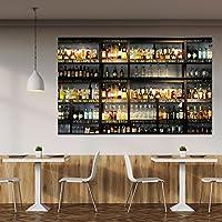 Papel Pintado Cocina 183 x 127 cm Bar Cocktails Drinks Whiskey Cognac Fotomurales Incluyendo Pegamento livingdecoration