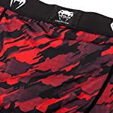 Venum Herren Tecmo Vale Tudo Shorts, Rot/Weiß, M - 6