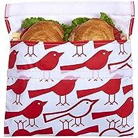 Lunchskins Reusable Big Bag für Sandwiches - Red Bird preisvergleich bei kinderzimmerdekopreise.eu