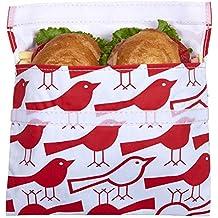 Lunchskins Reusable Big Bag für Sandwiches - Red Bird