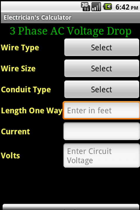 Electricians calculator amazon appstore for android 000 greentooth Gallery