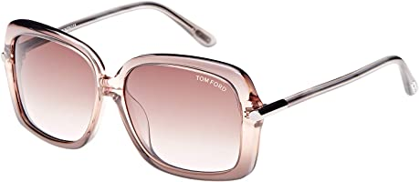 Tom Ford Square Women's Sunglasses - FT9323-74F - 59-14-135mm