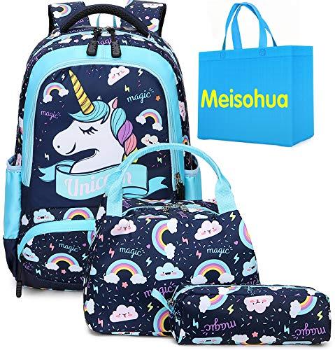 Mochila Unicornio Niños Impermeable Mochila Escolar para Adolescente Pequeñas Mochilas Infantil Bolso...