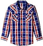Allen Solly Junior Boys' Shirt (AKBSF515092_Blue_11 - 12 years)