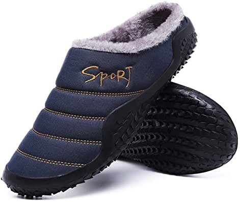 HIVER Coton Chaussons Chaussures Pour Hommes Femmes Camping Maison Pieds Chaud Chaussons