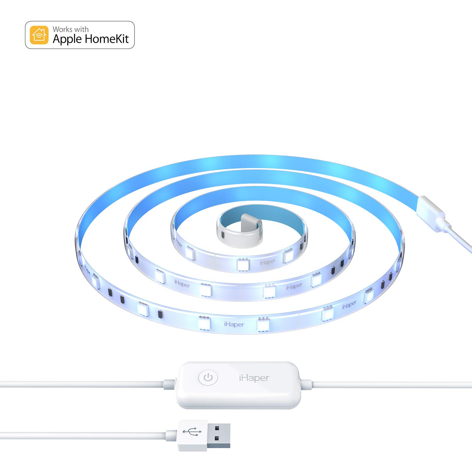 iHaper Ruban Intelligent LED Lightstrip Lumineux IP65