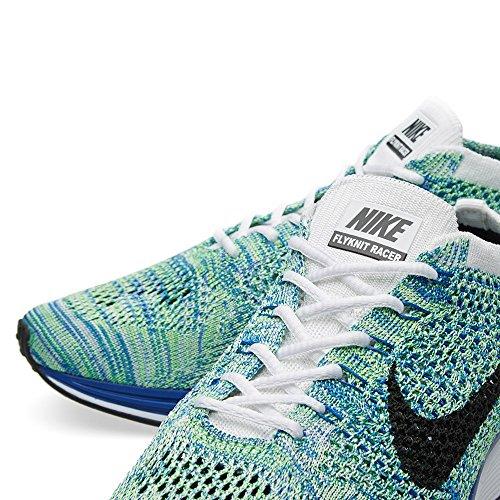 Nike Herren Laufschuhe, 44 EU Weiß / Schwarz / Blau / Grün (Weiß / Schwarz-Gm-Grn Königlichen Strk)