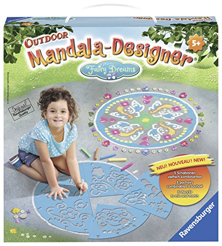 Ravensburger 29764 - Fairy Dreams Mandala Designer Outdoor