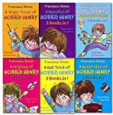 Horrid Henry Collection 18 Titles in 6 Books Set New RRP: £ 54.95