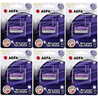 "AGFA NEW 2017"" 6 X GOLF LASER RANGEFINDER CR2 3V LITHIUM BATTERY FITS BUSHNELL"