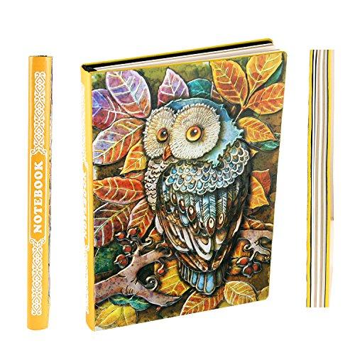 Xuan taccuino righe a5 copertina rigida,diario segreto in pelle,vintage quaderno appunti,fatto a mano,200 pagine,idee regalo san valentinoper anniversario donna uomo bambini papa mamma colorato