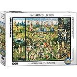 """Eurographics """"Hieronymus Bosch El jardín de los placeres terrestres / Tríptico"""" Puzzle (1000 piezas, Multi-Color)"""