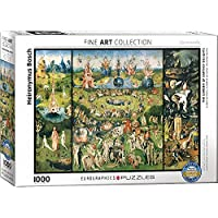 """Eurographics """"Hieronymus Bosch The Garden of Earthly Delights/Triptych"""" Puzzle (1000-Piece, Multi-Colour)"""