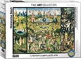 Eurographics quot;Hieronymus Bosch – Der Garten der Lüste/Triptychon Puzzle (1.000 Teile, mehrfarbig)