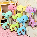 #10: Richy Toys Giraffe 1Pc Animal Soft Toy kids birthday Gift Stuffed Soft Plush Toy Love 25 cm (Assorted Color)