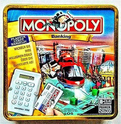MONOPOLY BANKING IN JUBILAUMS BOX VISA exclusiv Edition Kartenleser