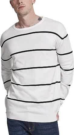 Urban Classics Men's Line Striped Sweater Jumper