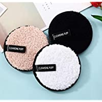 Cosluxe Reusable Multi-functional Soft Fiber, Makeup Remover Pads, Facial Cleansing Pads for Face Makeup I Perfect for…