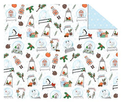 Ursus 11504603Cartulina Invierno Navidad, Multicolor