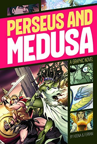 Perseus and Medusa (Graphic Revolve: Common Core Editions) by Blake A. Hoena (2014-07-01)