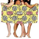 Walnut Cake Strandtücher Handtücher Beach Bath Towel Doughnut Soft Big 31'x 51'