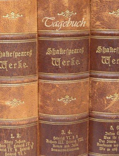 TageBuch -Shakespeare: Genug Platz für dein Leben - fast DIN A4, Diary, Notizbuch, liniert
