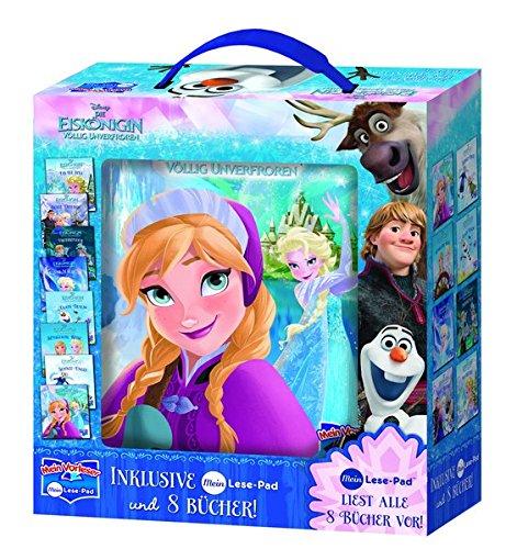 Disney Die Eiskönigin, Mein Vorleser - Elektronisches Lese-Pad mit 8 Hardcover-Büchern
