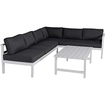 Amazonde Outliv Loungemöbel Outdoor Indianapolis Loungeecke 3