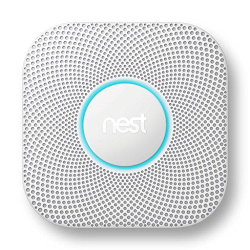 Nest Protect 2 Detector de monóxido de carbono Interconectables Inalámbrico - Detector de humo (Corriente alterna, 38,5 mm, 135 mm, 135 mm, 375 g, 4 - 38 °C)