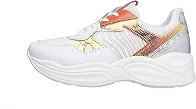 Nero Giardini E010592D Sneakers Donna in Pelle E Tela