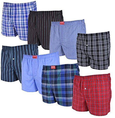 8 Stück Herren Gr. L Boxershorts Boxer-Short Boxer Short Loose fit Gr. Größe Grösse S M L XL XXL Gr. Größe Grösse 38 40 42 44 46 48 50 52 54 56