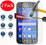 2 Pack - Samsung Galaxy Ace 4 G357 Verre Trempé, Vitre Protection Film de protecteur d'écran Glass Film Tempered Glass Screen Protector Pour Samsung Galaxy Ace 4 G357