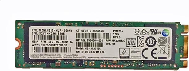 Samsung 512GB SATA III PM871a M.2 SSD 6Gb/s 80mm 2280 NGFF MZNLN512HMJP