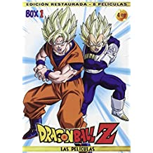 Pack Películas Dragon Ball Z: Las Peliculas - Box 1