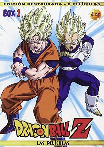 Pack Películas Dragon Ball Z: Las Peliculas - Box 1 [DVD]